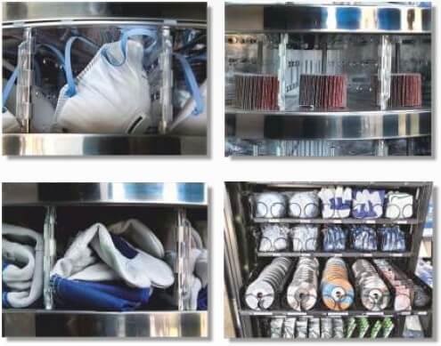 Sistemas de entrega EPIS material industrial y hospitalario